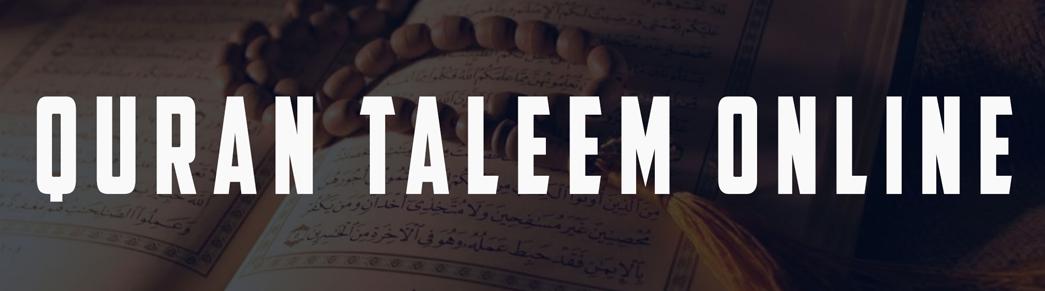 Quran Taleem Online